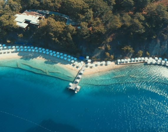 Private beach at D-Resort