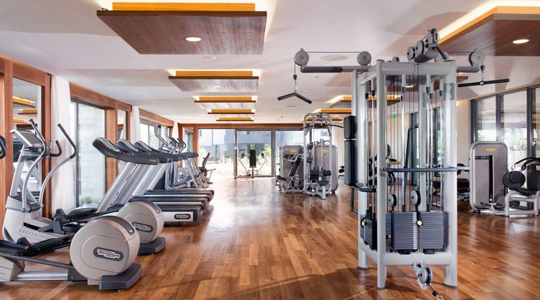 D-Resort Gocek well equipped Gym