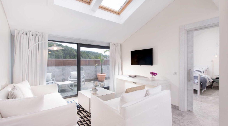 Attic Suite with terrace at D-Resort Gocek