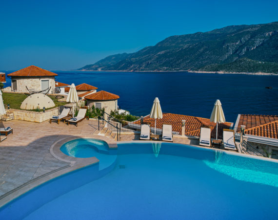 Deniz Feneri Pool and sea views