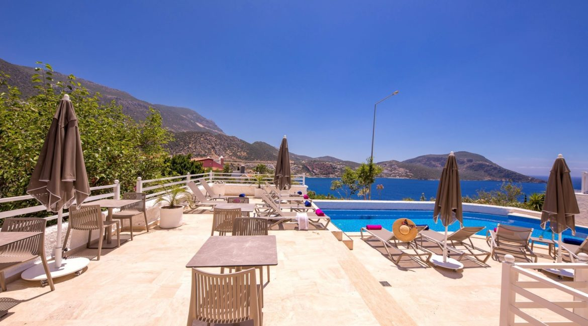 Saray Suites Pool Terrace