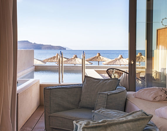 View from Pure Haven at Domes Noruz