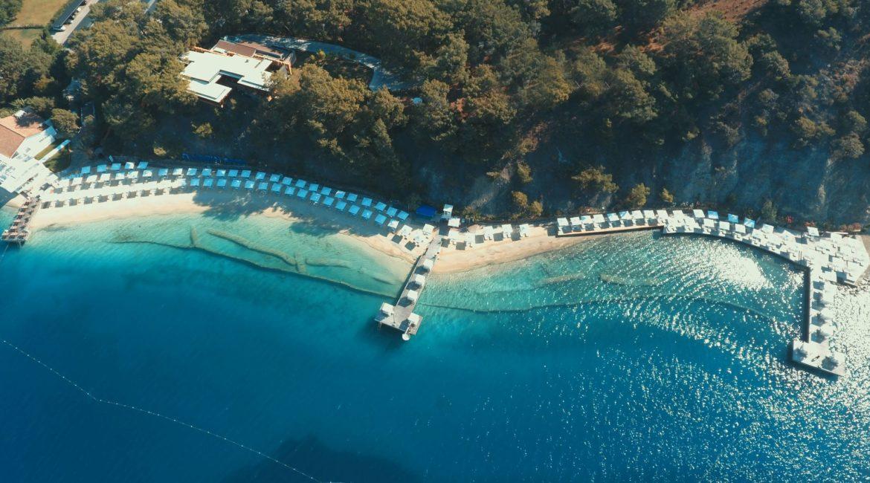 D Resort beach