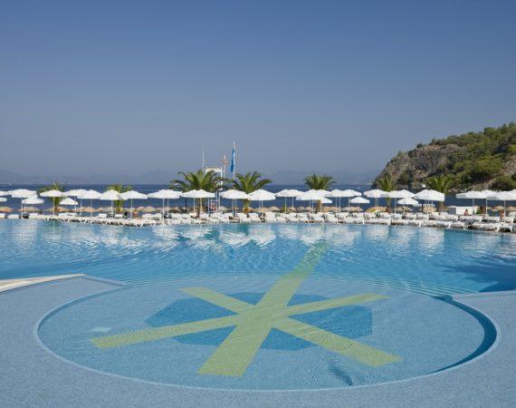 Hillside Beach Club pool and beach