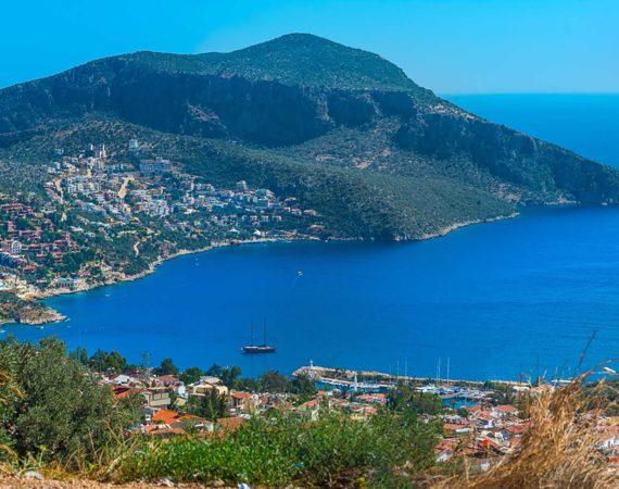 Stunning views of Kalkan harbour