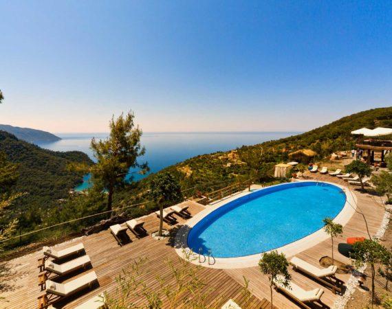 Lissiya Hotel Faralya with awesome views