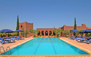 The large pool at Kasbah Angour