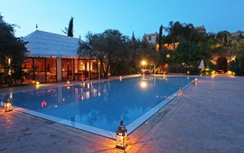 The pool at the Country Club at La Maison Arabe