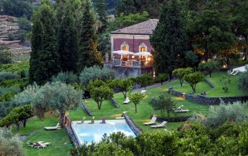 Monici Della Terra Nere Main Building with pool