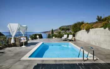 Villa Agapi Braunis Horio gorgeous pool with sea views